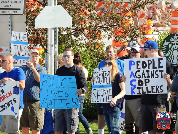 Sheboygan Support Our Police Rally on September 4, 2015
