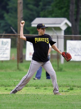 2014 Senior Little League Baseball Bradford Pirates @ Coudy Blue