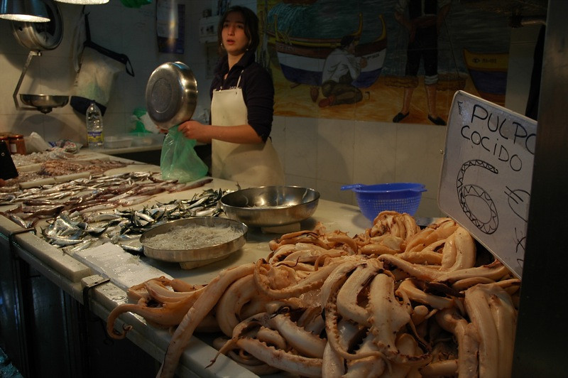 Pulpo! (Octopus) - Malaga, Spain