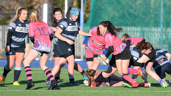 2018 01 07 - Cardiff Quins Girls U18 v Blues Ladies U18