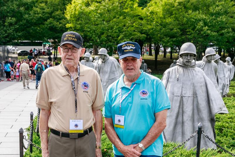 Veteran = Wright, Harold; Guardian = Gibson, Harold