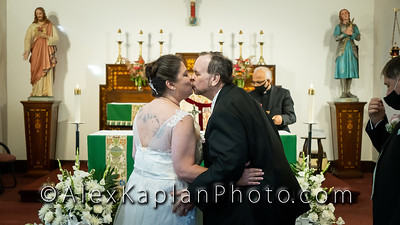 Wedding at St Joan of Arc R.C Church, Sloatsburg, NY by Alex Kaplan Photo Video Photobooth