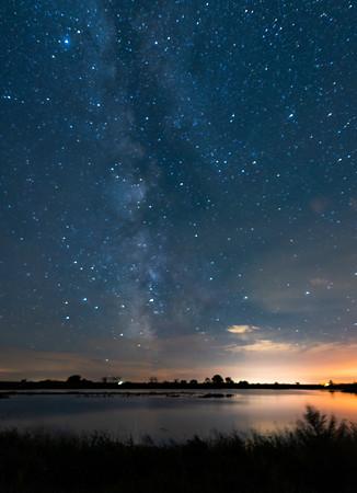 North Dakota Milky Way