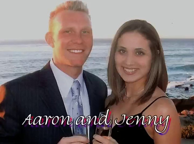 Aaron and Jen engagement video