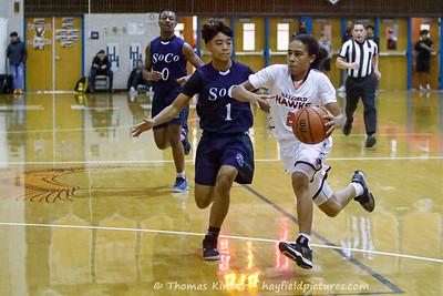 Boys JV Basketball v South County 12/10/19