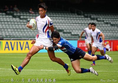 2015年奧運七人制資格賽預賽-台灣 VS 韓國(TWN vs KOR)