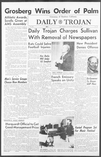 Daily Trojan, Vol. 56, No. 113, May 07, 1965