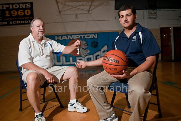 New Hampton Basketball Coach Ned Smith 05-26-11