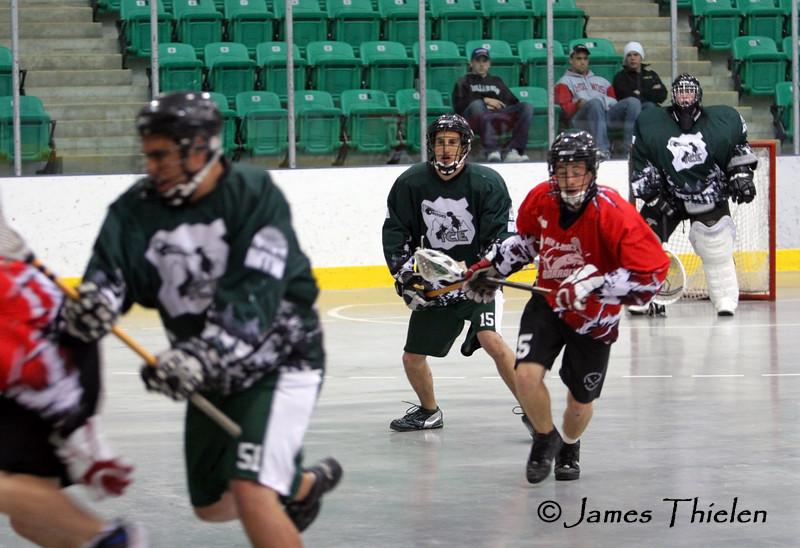 Okotoks Ice vs Lethbridge Barracudas June 17, 2007