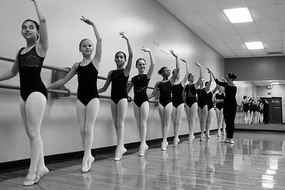 Ballet - B&W