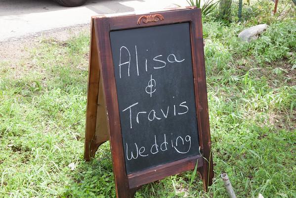 Travis Alisa Pre Ceremony