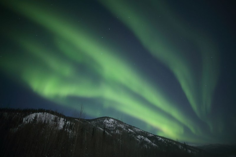 Chena Hot Springs Resort Northern Lights Alaska