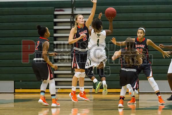 Boone Girls Varsity Basketball #12 - 2015