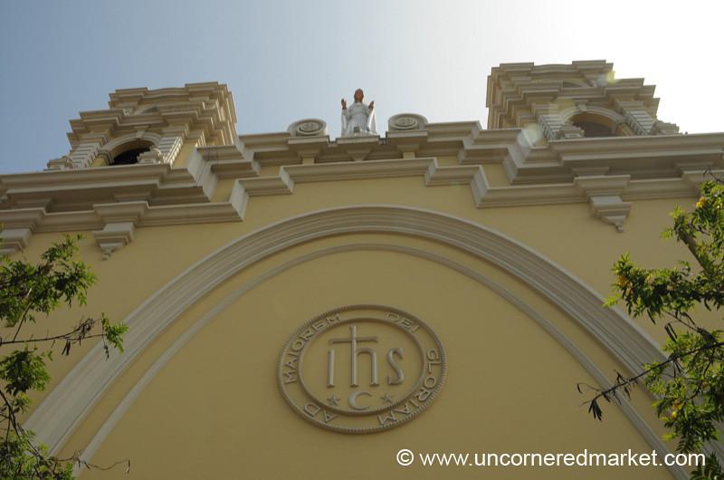 Looking Up - Lima, Peru