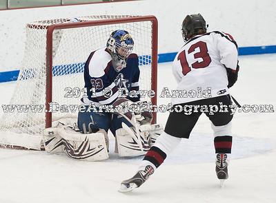 1/15/2011 - Boys Varsity Hockey - Governor's Academy vs Belmont Hill