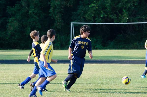 8-22-2015 Boys Varsity Soccer