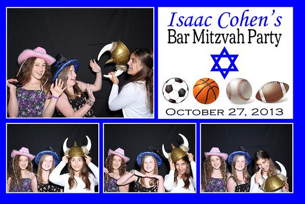 Isaac Bar Mitzvah Oct. 27th, 2013