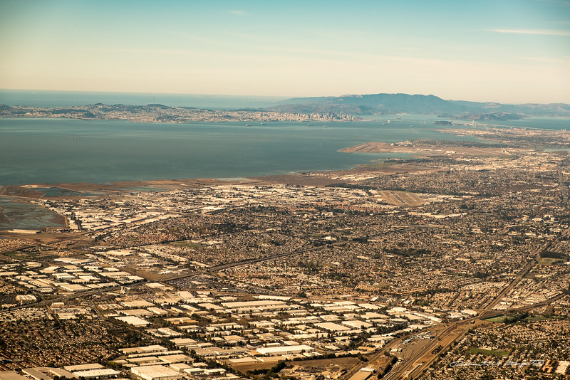 San Francisco Bay and the Pacific Ocean.