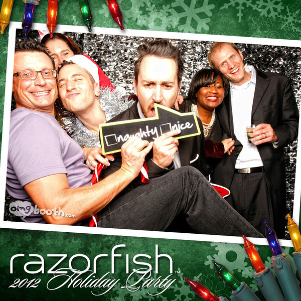 """12.08.2012 razaorfish 2012 holiday partyLivingston Restaurant 
