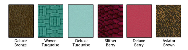 Mosaic Exotic Leather Options