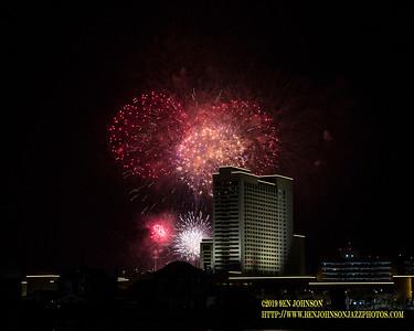 Borgata Fireworks 2019