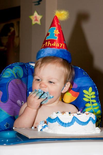 Conrad 1st Birthday Party