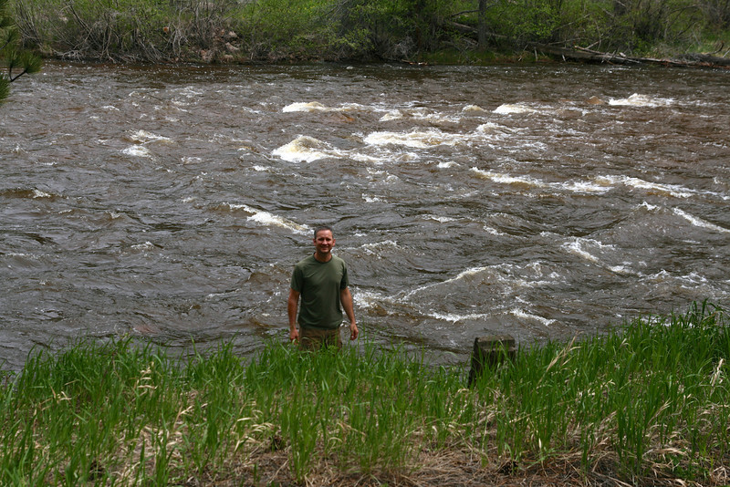 All our April/May snow is really starting to melt.  This is the most flow I've seen in the Poudre River in a few years.