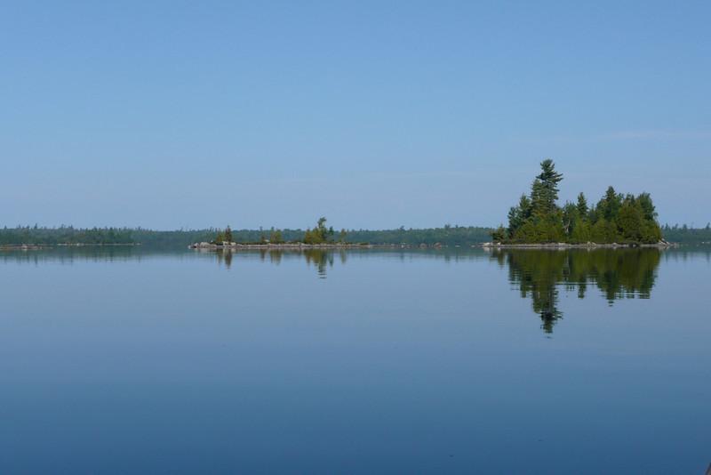 Lac Poulter. La Vérendrye Wildlife Reserve