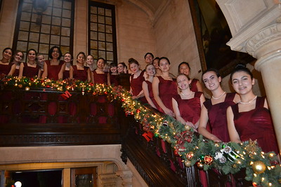 Mayfield Senior's Singers Lead Carol Night