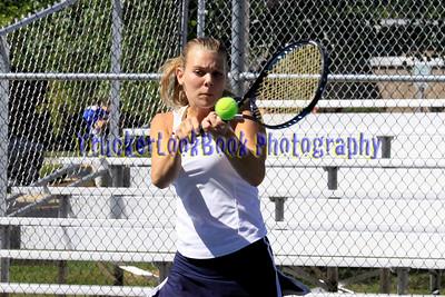 2010 Girls Tennis / Seniors + Shelby