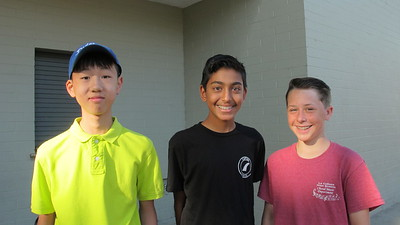 8th-Graders Help Incoming 7th-Graders Feel Welcome