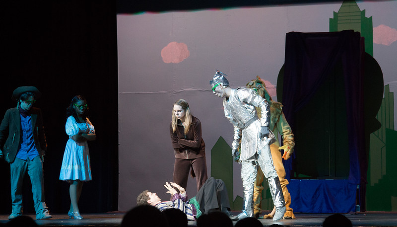 """""""Who Do You Think You Are?"""" -- """"The Wiz"""", Montgomery Blair High School spring musical, March 26, 2017"""