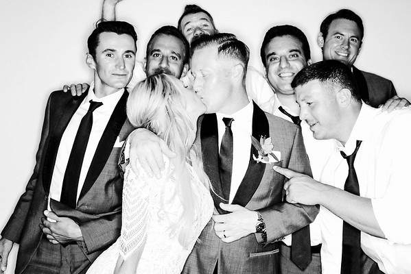 Black & Whites - Amanda and JR Get Married in Aspen!