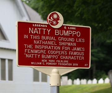 Natty Bumppo dedication. 071619