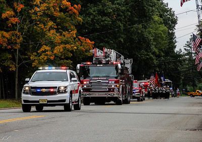 Northern Valley Fire Chiefs Parade 2018