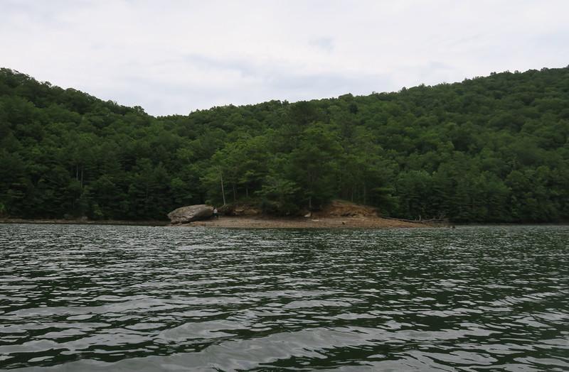 Bear Creek Lake Island
