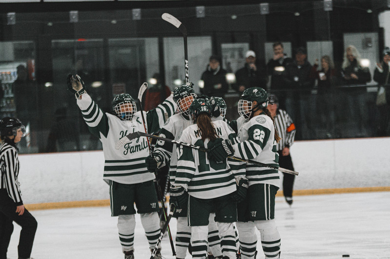 Holy Family Varsity Girls Hockey vs. Waconia, 1/9/20