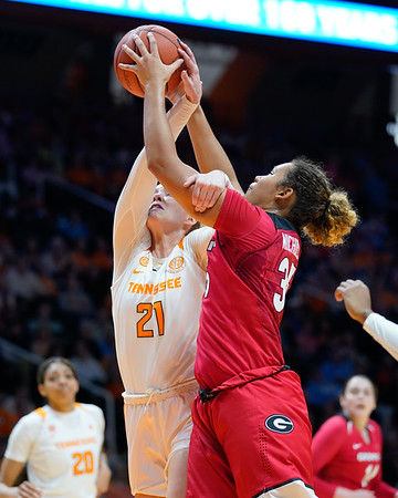 Georgia vs Lady Vols