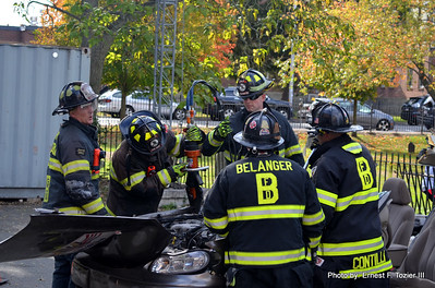 Beverly Fire Dept. Extrication Demo - Oct. 2016