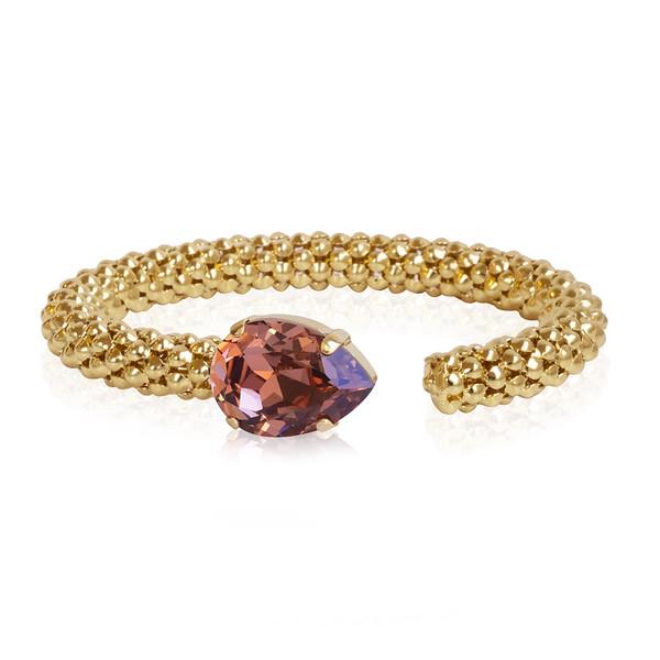Classic Rope Bracelet / Rose Blush / Gold