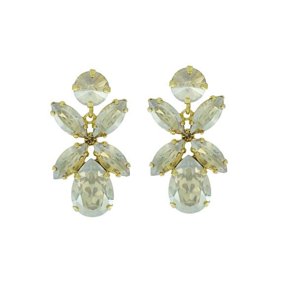 Dione Earrings / Golden Shadow