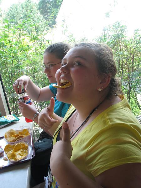 Health food ONLY on Youth Tour!!!! (Nice, Kayla)
