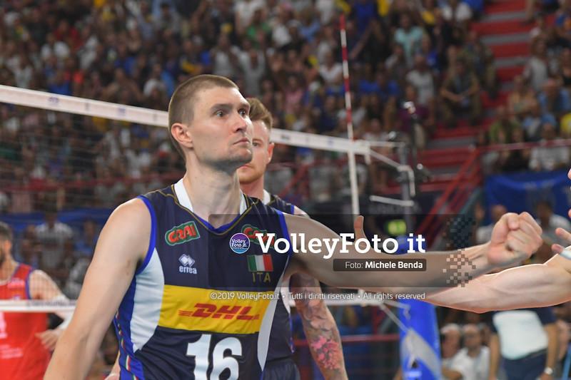 Oleg ANTONOV, celebrates a point