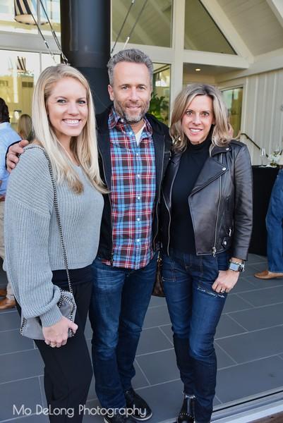 Ashley Suddendorf and Debbie and Greg Bernier