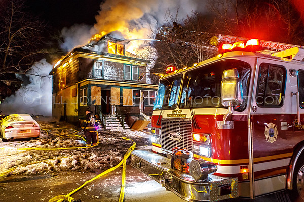 Structure Fire - 85 Smith Street - City of Poughkeepsie FD. 1/28/2015