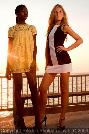 Kent Island - Retro Fashion Shoot with Jacqueline and Irene