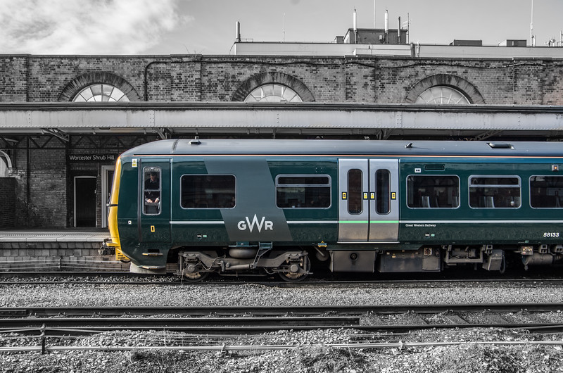 GWR 166212 at Shrub Hill