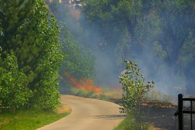 Rockbridge Wildland Interface Fire