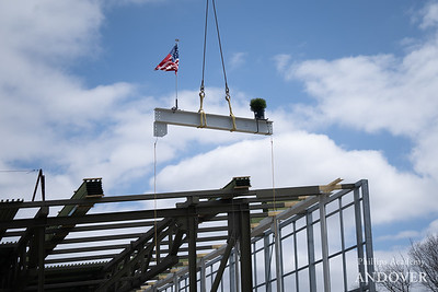 Pan Athletic Center Topping Off