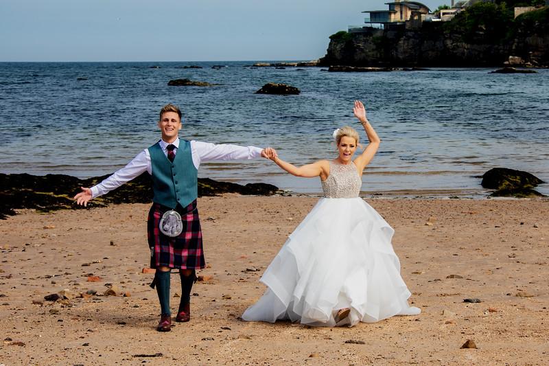 St Andrews Beach Wedding Photographs